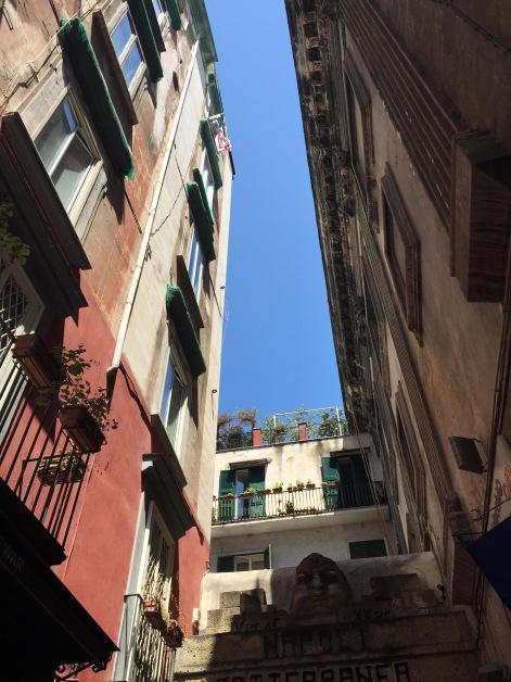 Entrée des Napoli Sotterranea